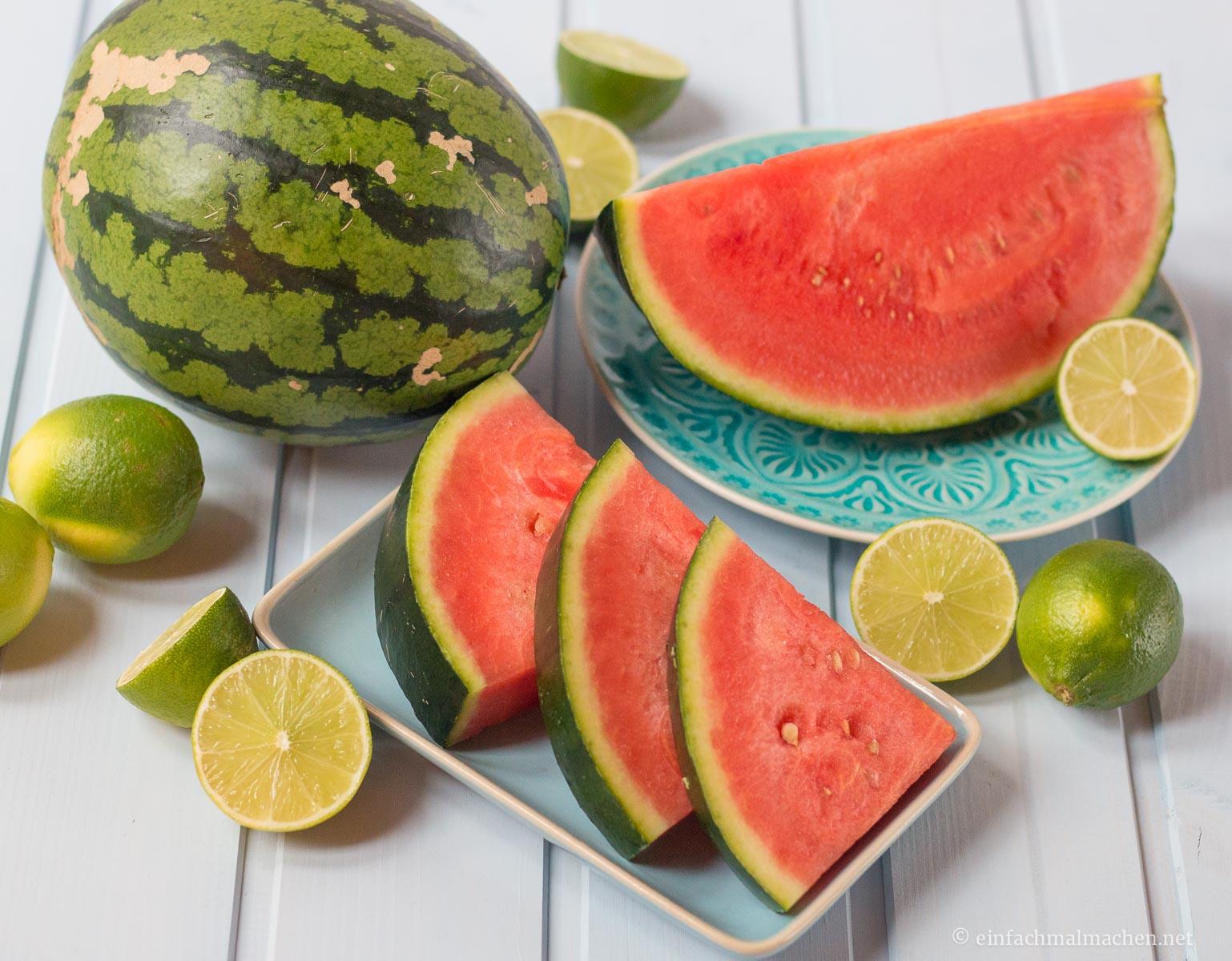 Wassermelonen-Margarita-Melone