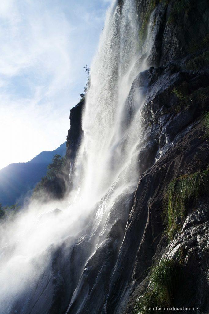 Acquafraggia Wasserfälle